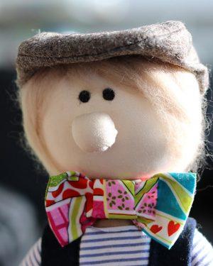 Handmade, Fabric Doll, dezigne