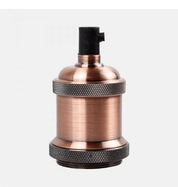 Copper Lamp Base E27