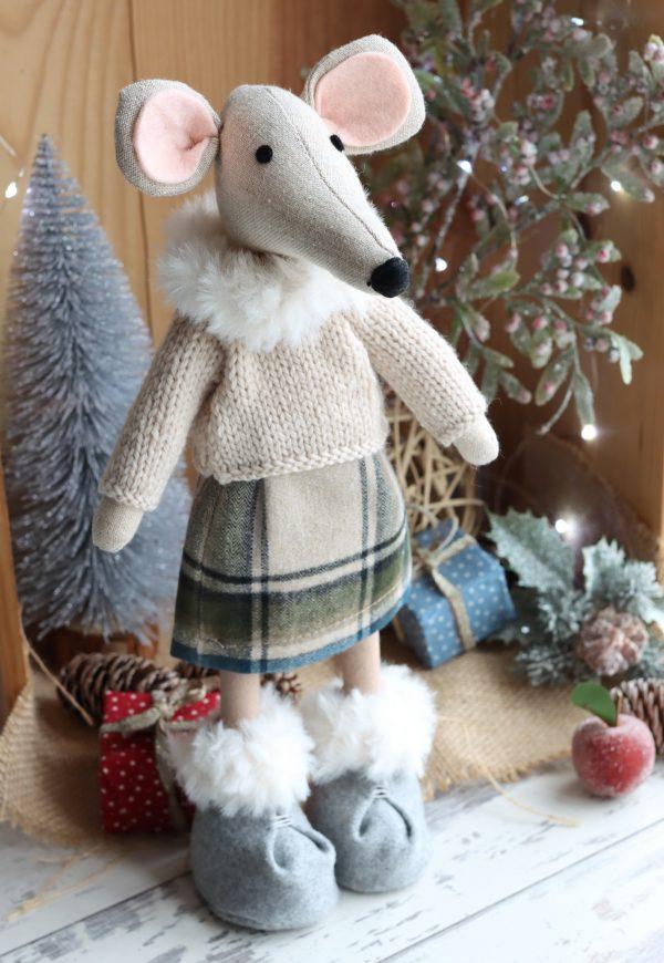 Christmas Mouse Ornamnet