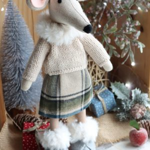 Christmas Mouse Ornamnet