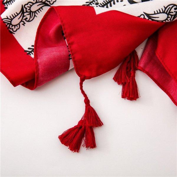scarf ethnic print
