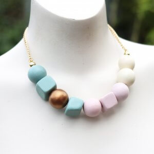 Summer Sorbet Chunky Bead Necklace