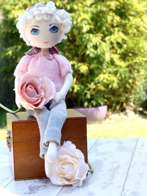 Cute Blond Rag Doll