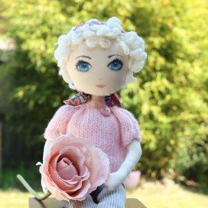 Cute Blonde Rag Doll