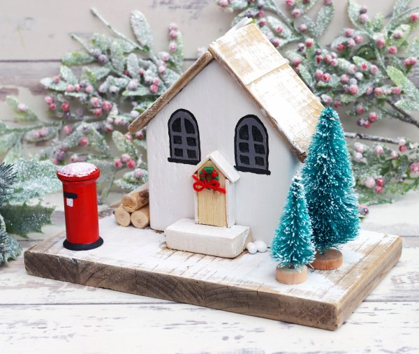 The Old Chapel Wooden Festive Ornament