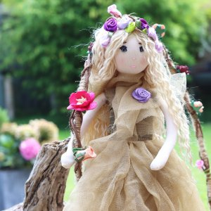 Willow Flower Fairy Doll