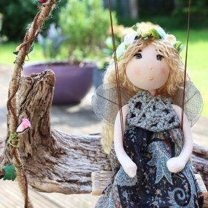 Jasmine Flower Fairy Doll
