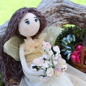 Elderflower Fairy Doll
