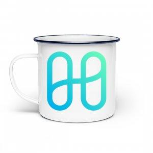 Harmony Logo standard T-shirt - Enamel mug-3