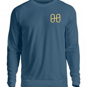 Harmony Sweatshirt Embroidery Gold - Unisex Sweatshirt with Embroidery-1461