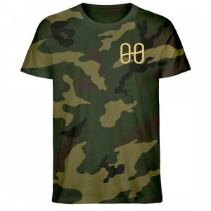 Harmony Camouflage T-shirt Gold - Creator Camouflage T-Shirt Embroidery ST/ST-6935