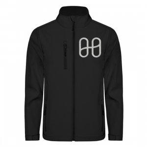 Harmony Softshell Jacket Embroid Silver - Unisex Softshell Jacket with Embroidery-16