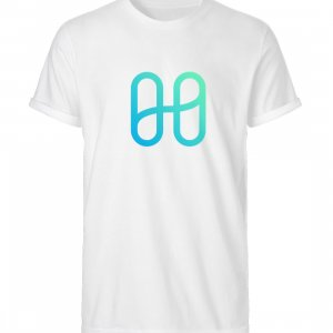 Harmony Front Logo Rolled T-shirt - Men Roll Up Shirt-3