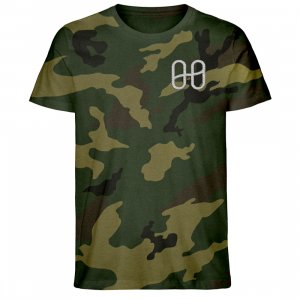 Harmony Camouflage T-shirt Silver - Creator Camouflage T-Shirt Embroidery ST/ST-6935