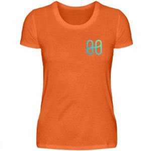 Harmony Ladies Front Basic T-shirt - Women Basic Shirt-1692