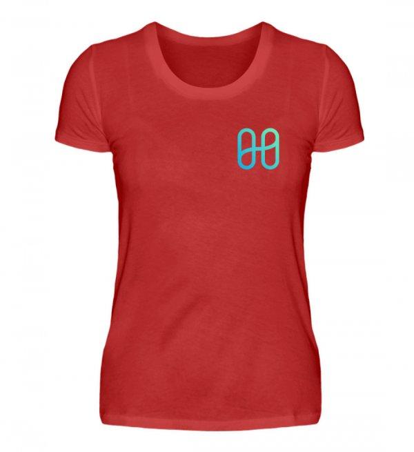 Harmony Ladies Front Basic T-shirt - Women Basic Shirt-4