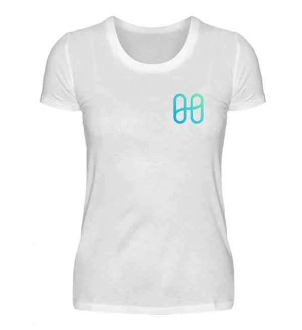 Harmony Ladies Front Basic T-shirt - Women Basic Shirt-3