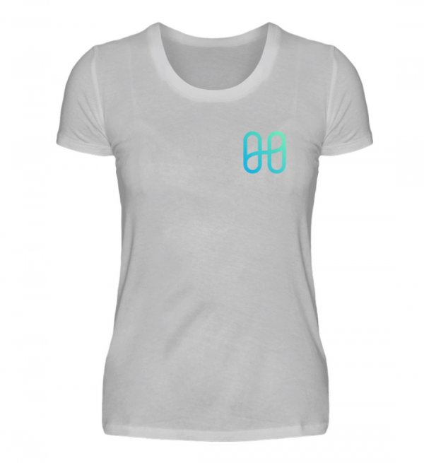 Harmony Ladies Front Basic T-shirt - Women Basic Shirt-17