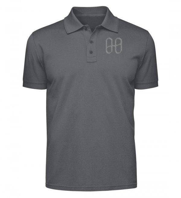 Harmony Logo Polo T Grey - polo shirt-70