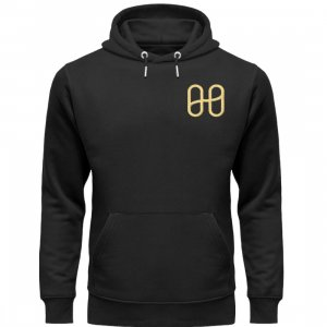 Harmony Cruiser Hoodie Embroidery Gold - Unisex Premium Organic Hoodie with Embroidery-16