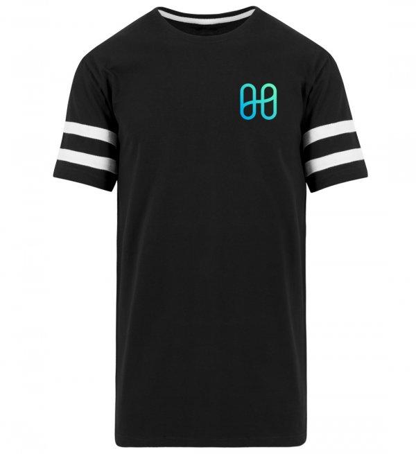 Harmony Logo stripes T-shirt - Men Basic Shirt-16