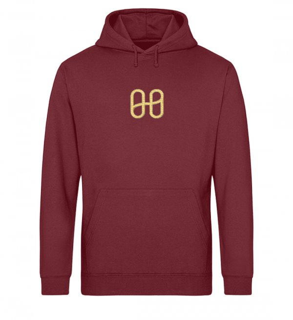 Harmony Drummer Hoodie Embroidery Gold - Drummer Hoodie with Embroidery ST/ST-6974