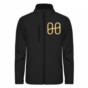 Harmony Softshell Jacket Embroided Gold - Unisex Softshell Jacket with Embroidery-16