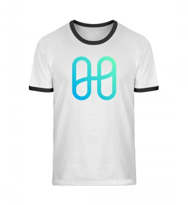 Harmony Logo Ringer T-shirt - Unisex Organic Ringer T-Shirt ST/ST-7044