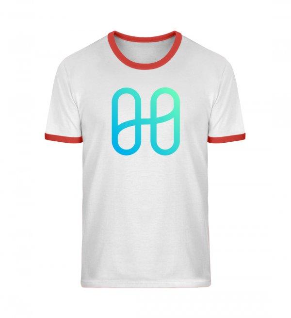 Harmony Logo Ringer T-shirt - Unisex Organic Ringer T-Shirt ST/ST-7045