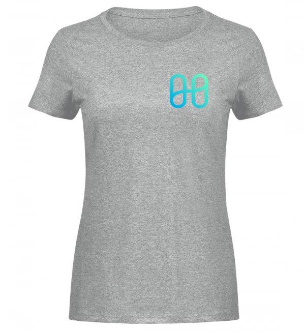 Harmony Ladies Melange T-shirt - Women Melange Shirt-6807