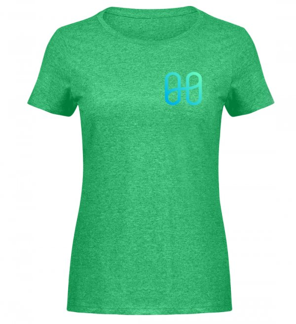 Harmony Ladies Melange T-shirt - Women Melange Shirt-6804