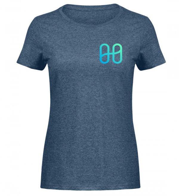 Harmony Ladies Melange T-shirt - Women Melange Shirt-6803