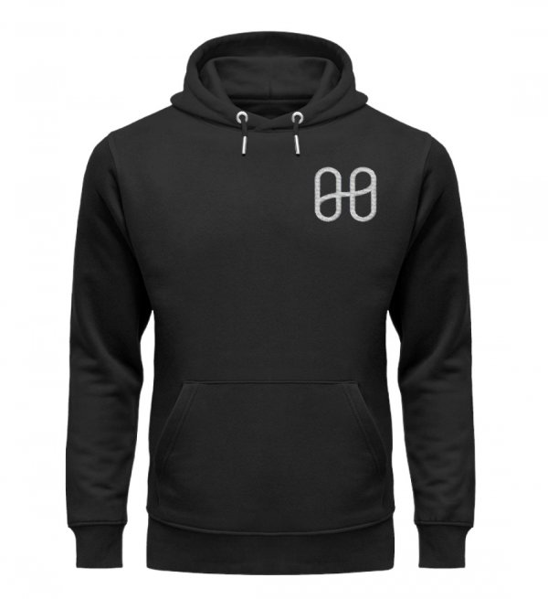 Harmony Cruiser Hoodie Embroidery Silver - Unisex Premium Organic Hoodie with Embroidery-16