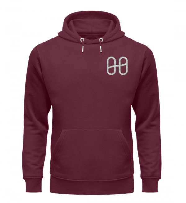Harmony Cruiser Hoodie Embroidery Silver - Unisex Premium Organic Hoodie with Embroidery-839