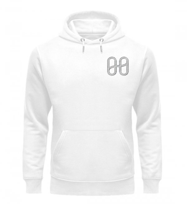 Harmony Cruiser Hoodie Embroidery Silver - Unisex Premium Organic Hoodie with Embroidery-3
