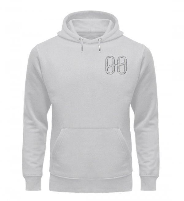 Harmony Cruiser Hoodie Embroidery Silver - Unisex Premium Organic Hoodie with Embroidery-17