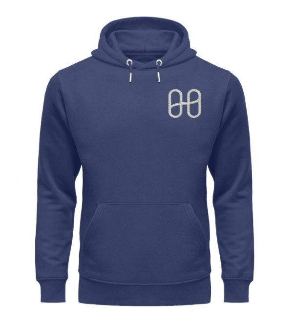 Harmony Cruiser Hoodie Embroidery Silver - Unisex Premium Organic Hoodie with Embroidery-6057